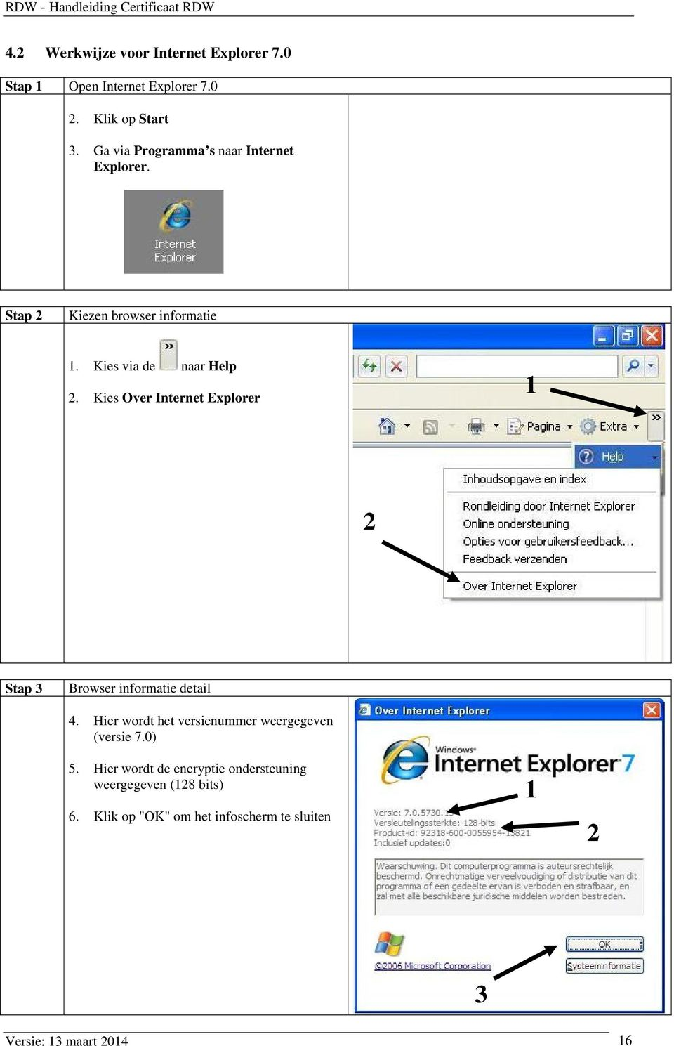 Kies Over Internet Explorer 1 2 Stap 3 Browser informatie detail 4.