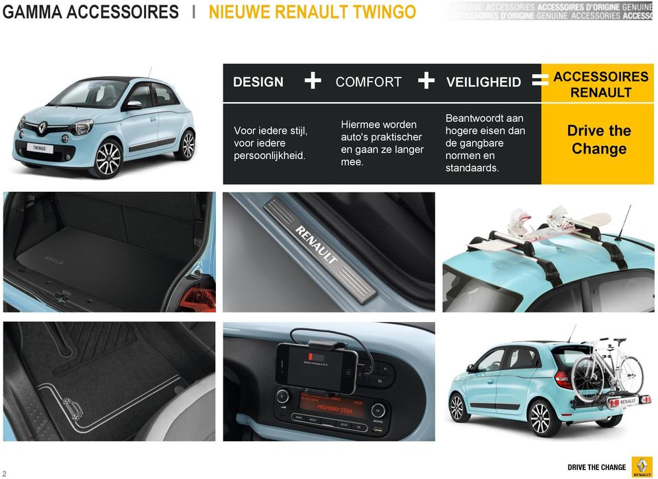 nieuwe renault twingo gamma accessoires pdf. Black Bedroom Furniture Sets. Home Design Ideas