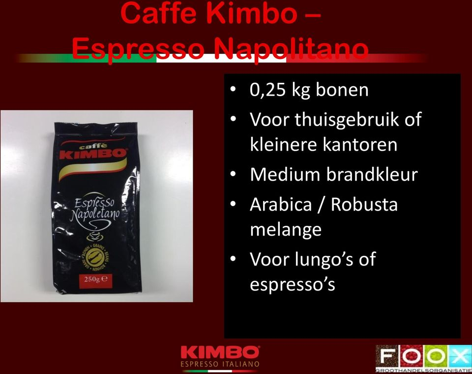kantoren Medium brandkleur Arabica /
