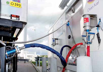 Openbare LNG24 tankstation: 1 in Zwolle. Overige openbare LNG tankstations: 2.