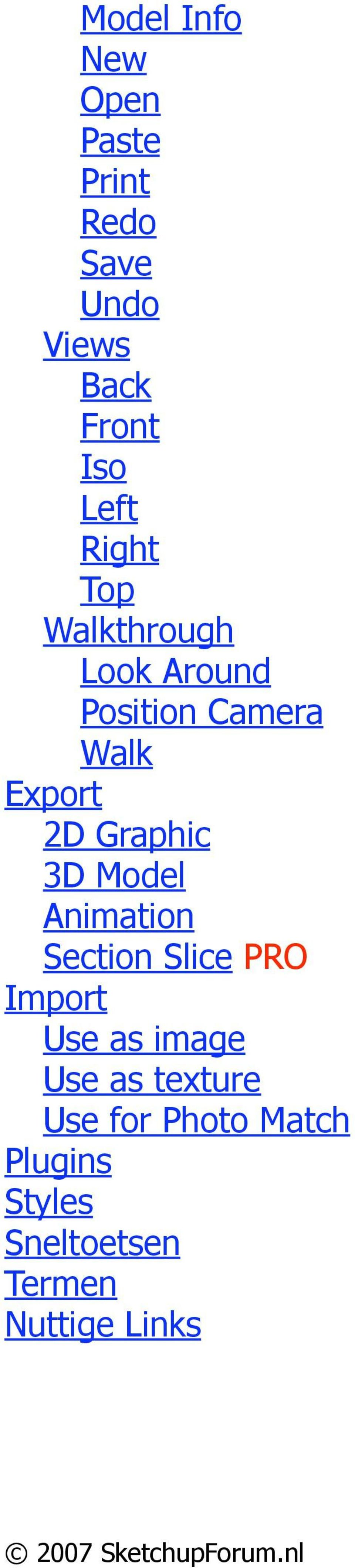 Graphic 3D Model Animation Section Slice PRO Import Use as image Use as