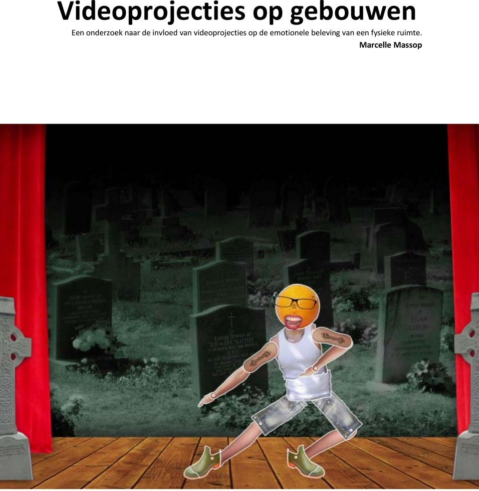 videoprojecties op de emotionele