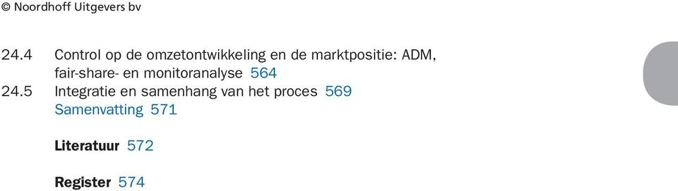 marktpositie: ADM, fair-share- en