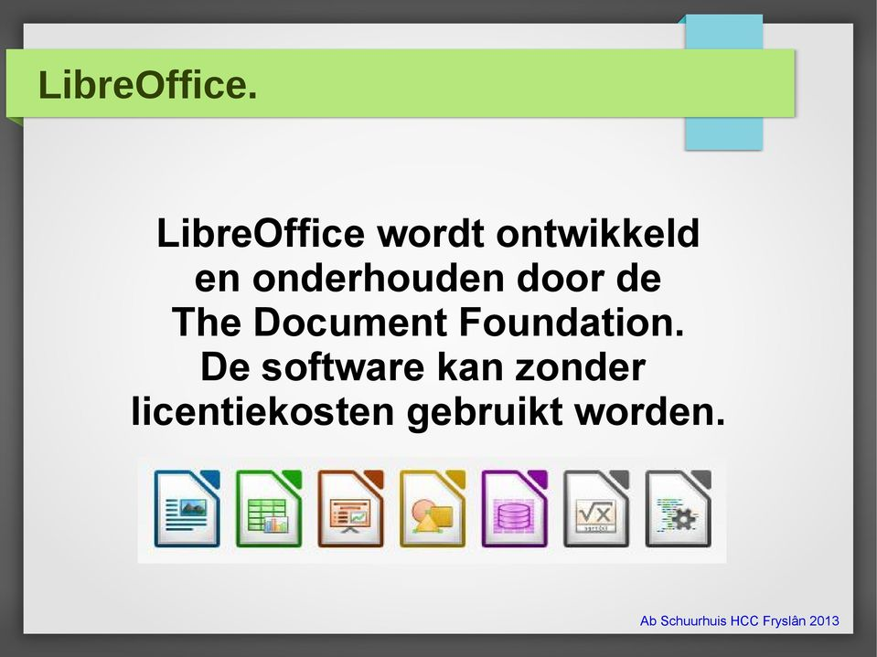 onderhouden door de The Document