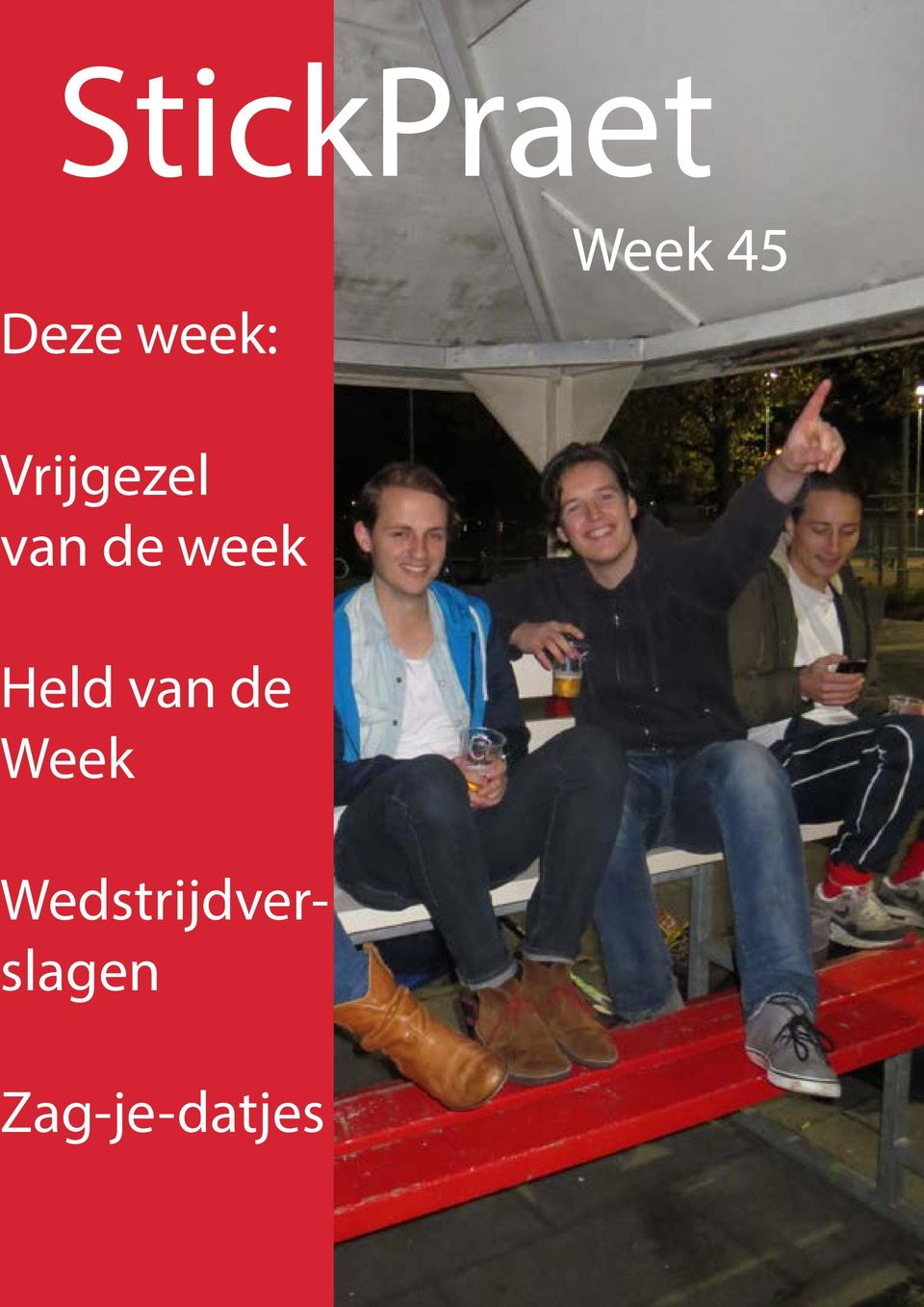 week Held van de Week