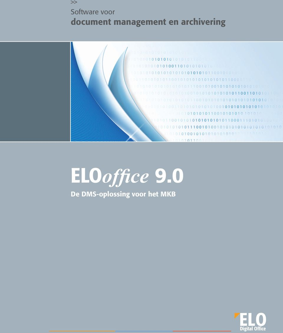 archivering ELOoffice 9.