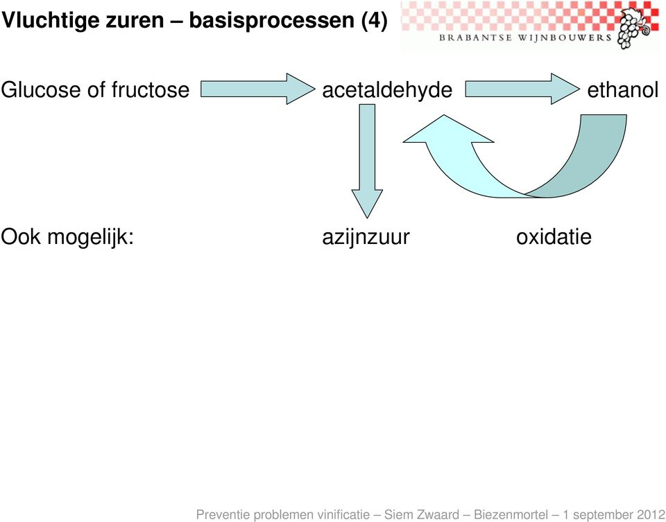 of fructose acetaldehyde