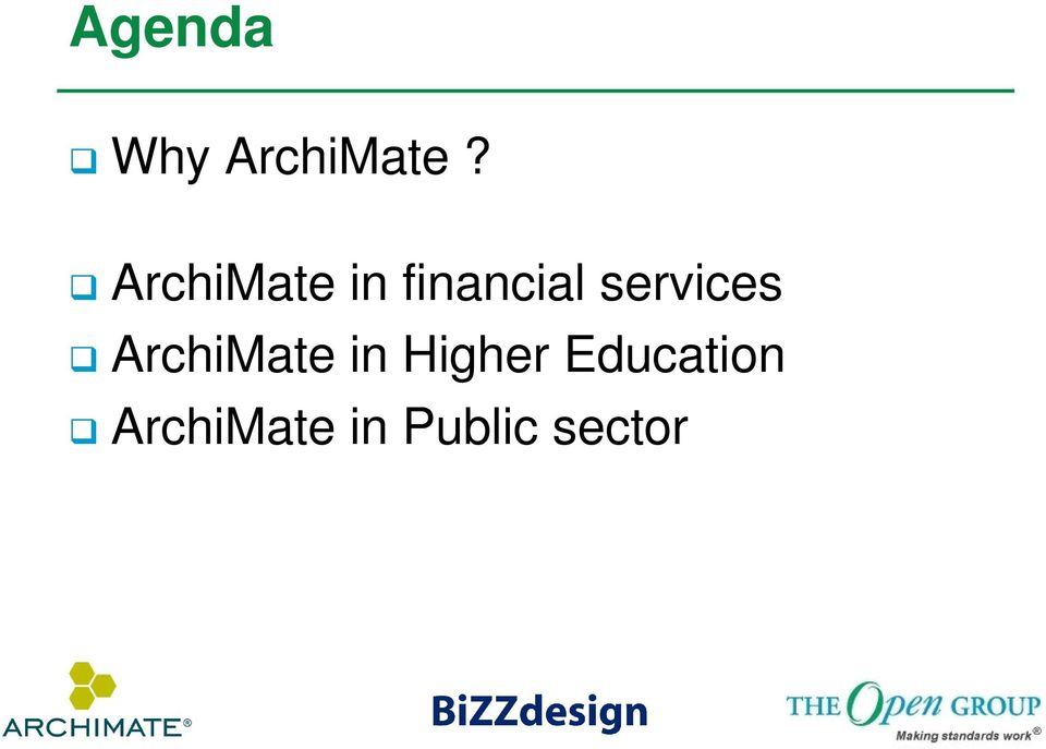 services ArchiMate in