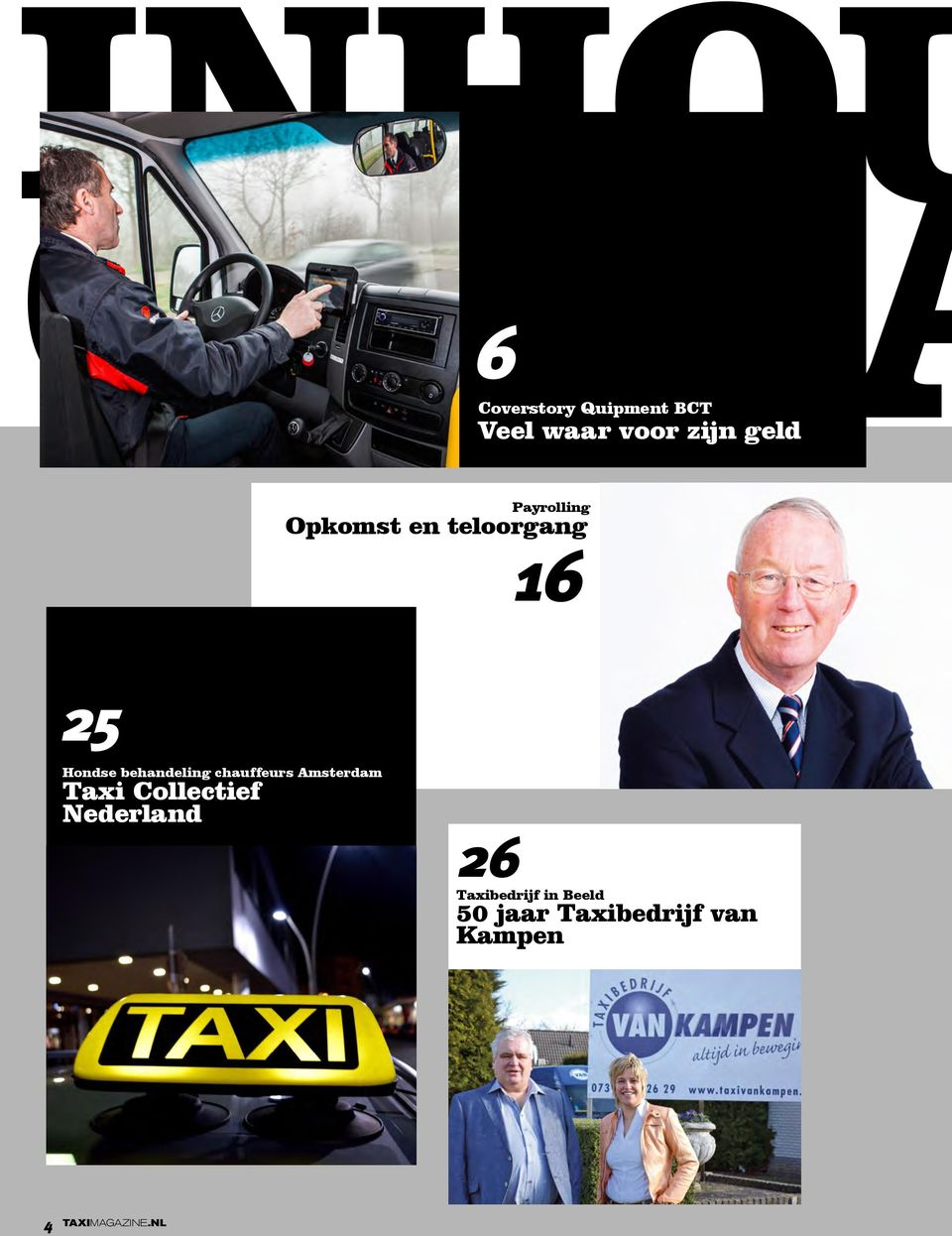 behandeling chauffeurs Amsterdam Taxi Collectief Nederland