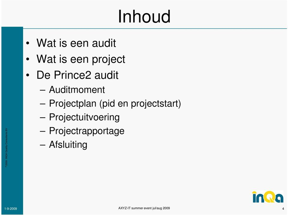 Projectplan (pid en projectstart)