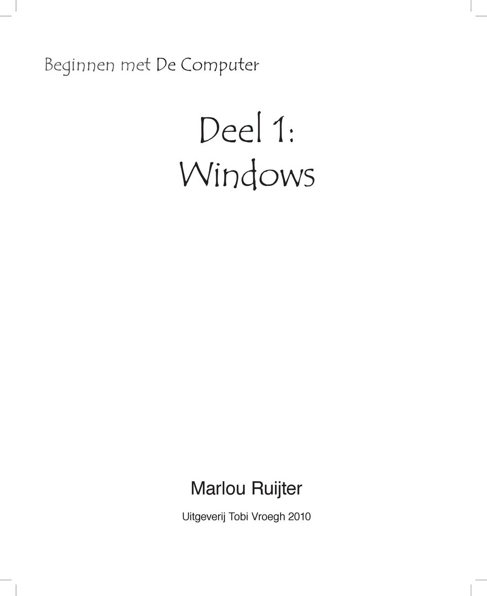 Windows Marlou