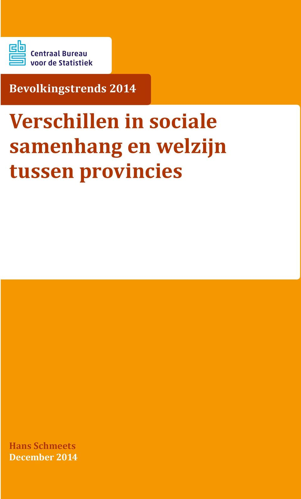 provincies Hans Schmeets December