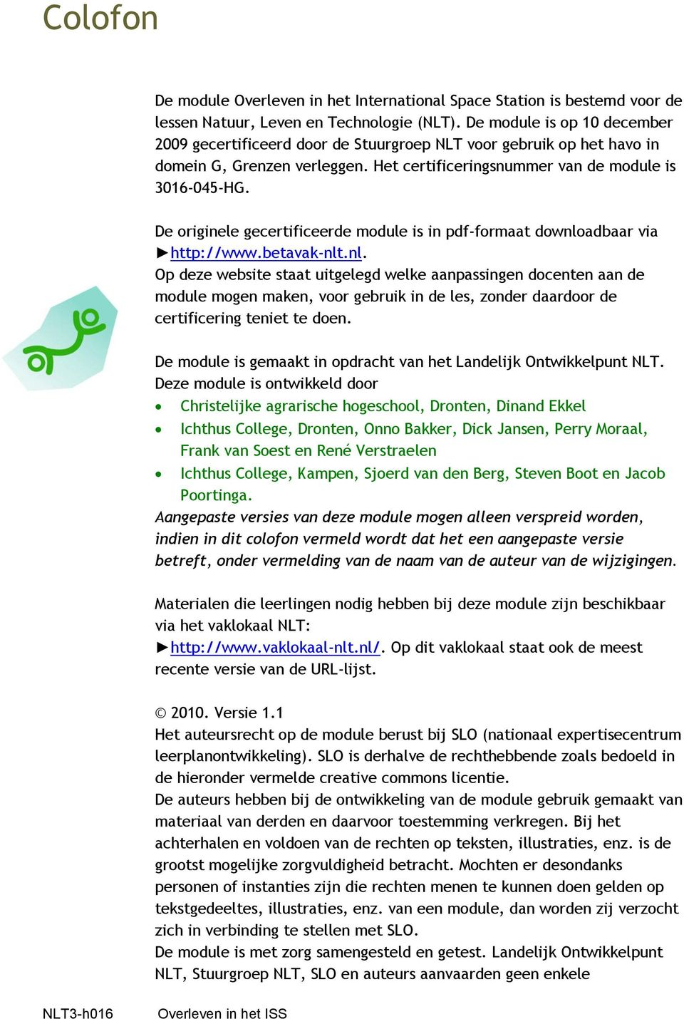 De originele gecertificeerde module is in pdf-formaat downlo
