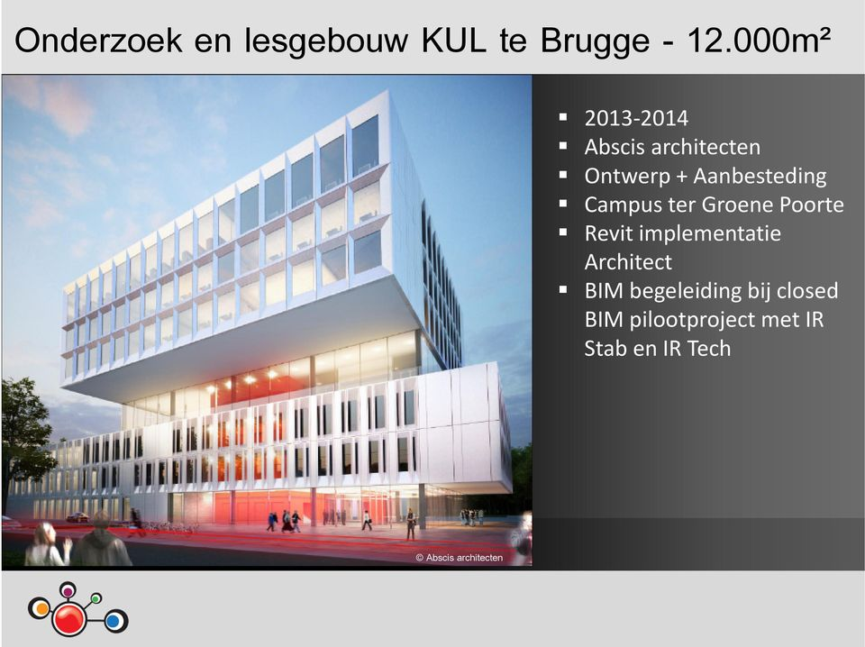 Campus ter Groene Poorte Revit implementatie Architect BIM
