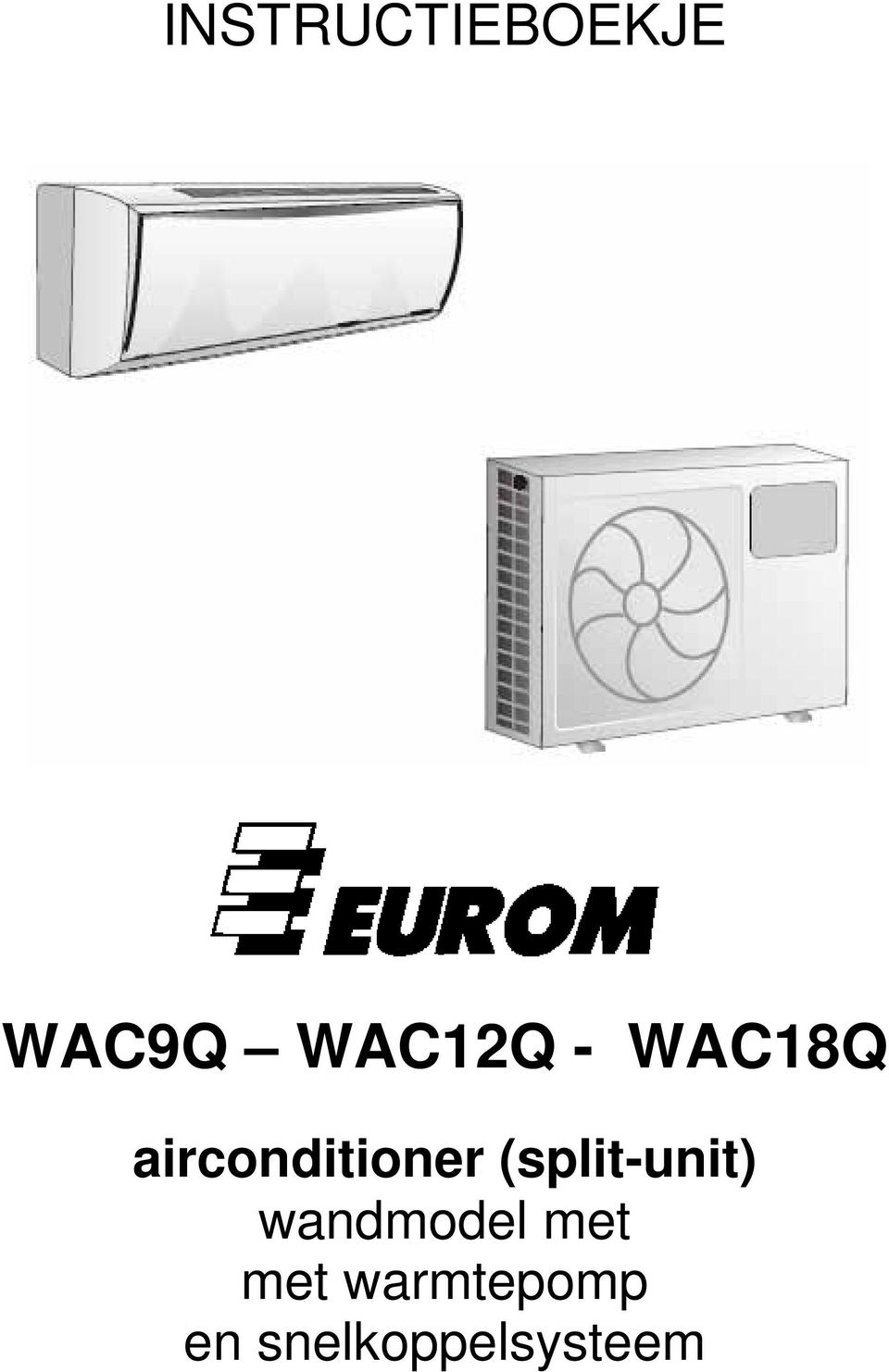 airconditioner (split-unit)