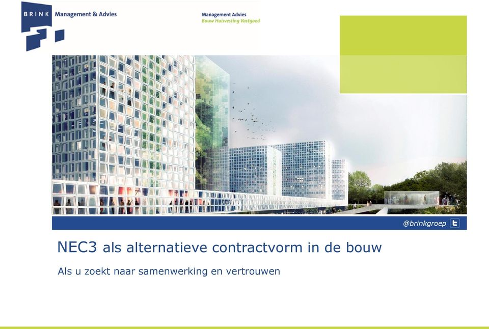 als alternatieve contractvorm in de