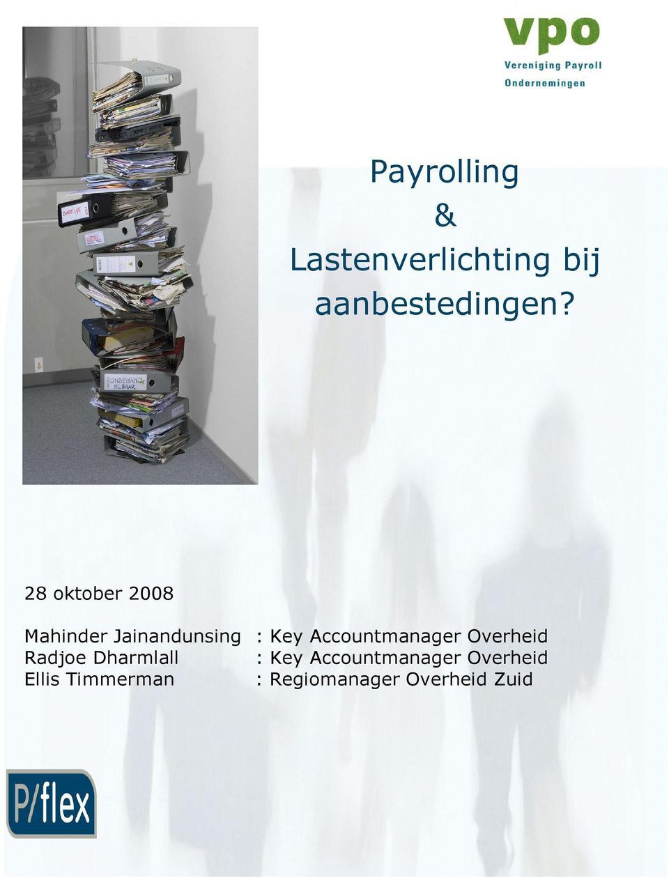 Accountmanager Overheid Radjoe Dharmlall : Key