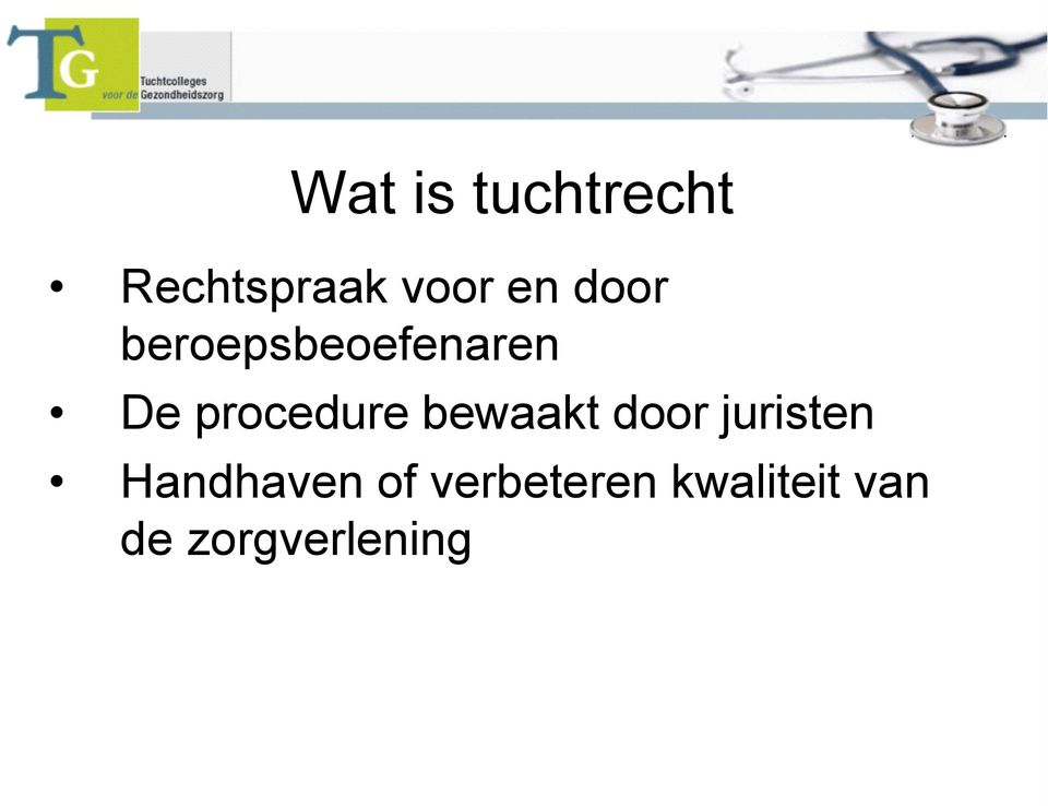 bewaakt door juristen Handhaven of