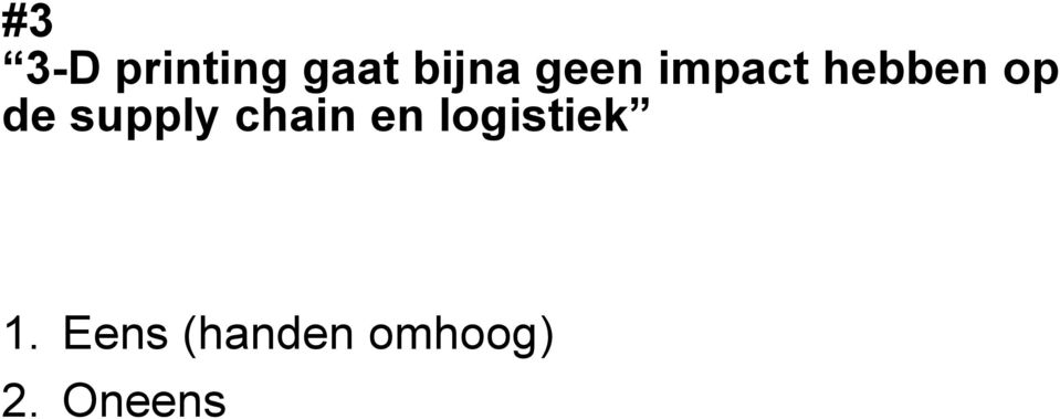 supply chain en logistiek 1.