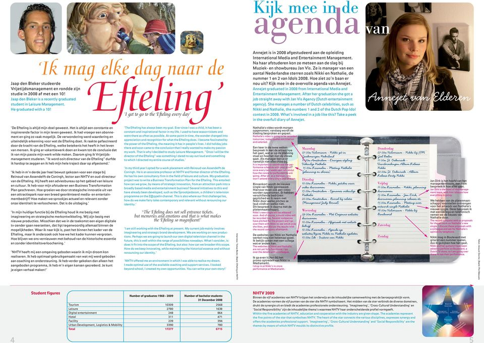 Efteling I get to go to the Efteling every day Annejet is in 2008 afgestudeerd aan de opleiding International Media and Entertainment Management.