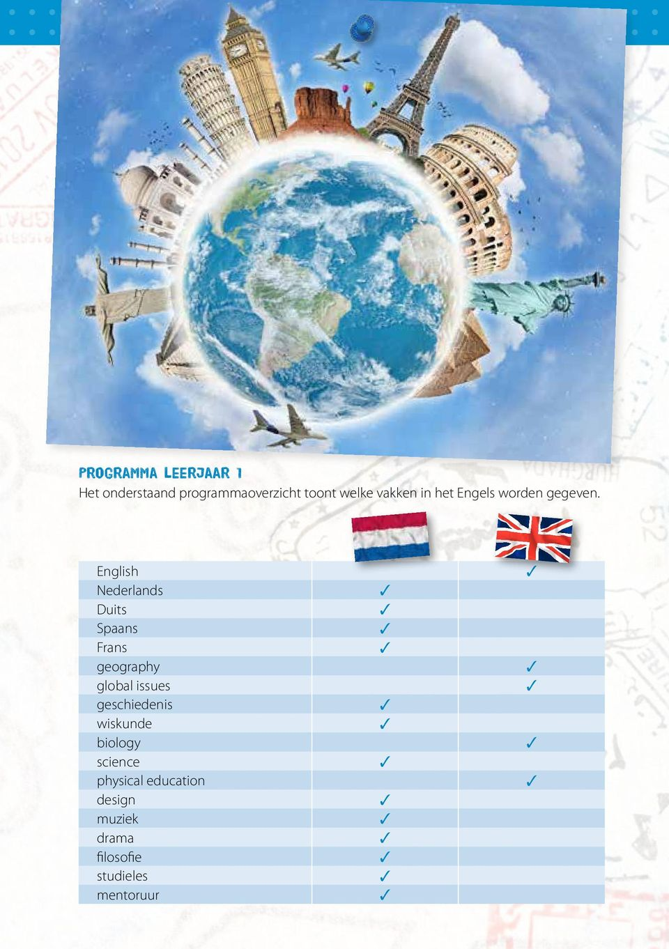 English 3 Nederlands 3 Duits 3 Spaans 3 Frans 3 geography 3 global issues 3