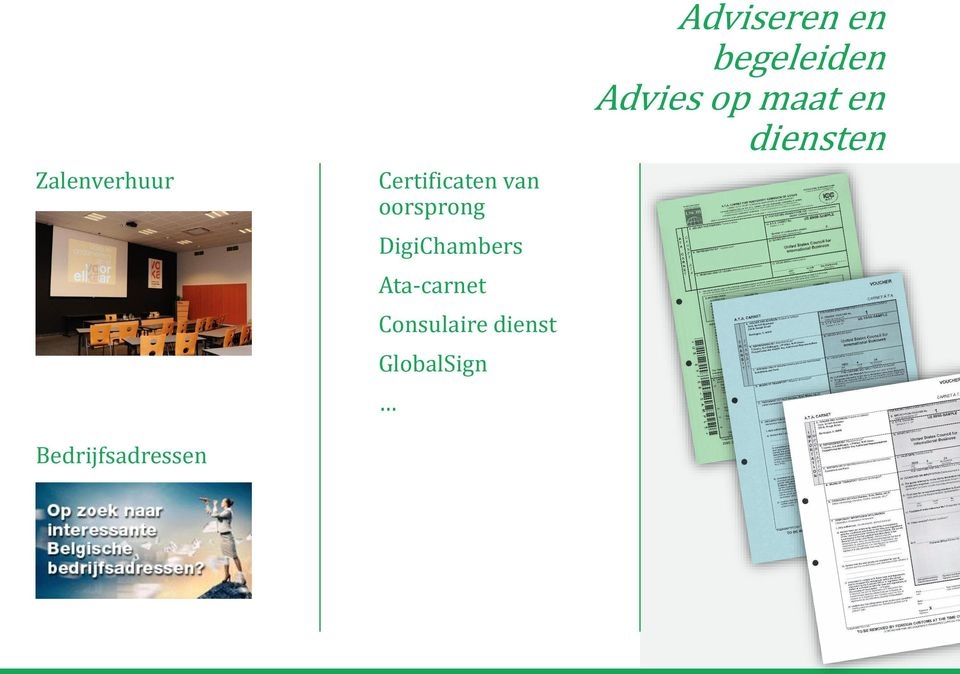 Ata-carnet Consulaire dienst GlobalSign