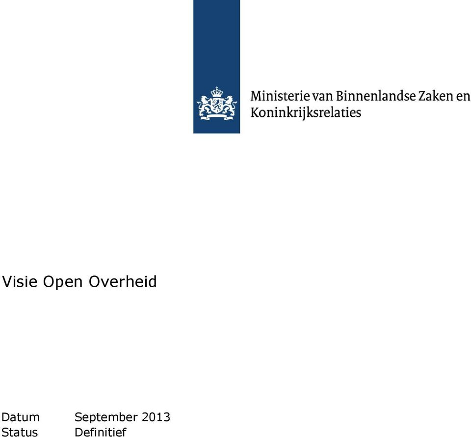 Integratie Visie Open