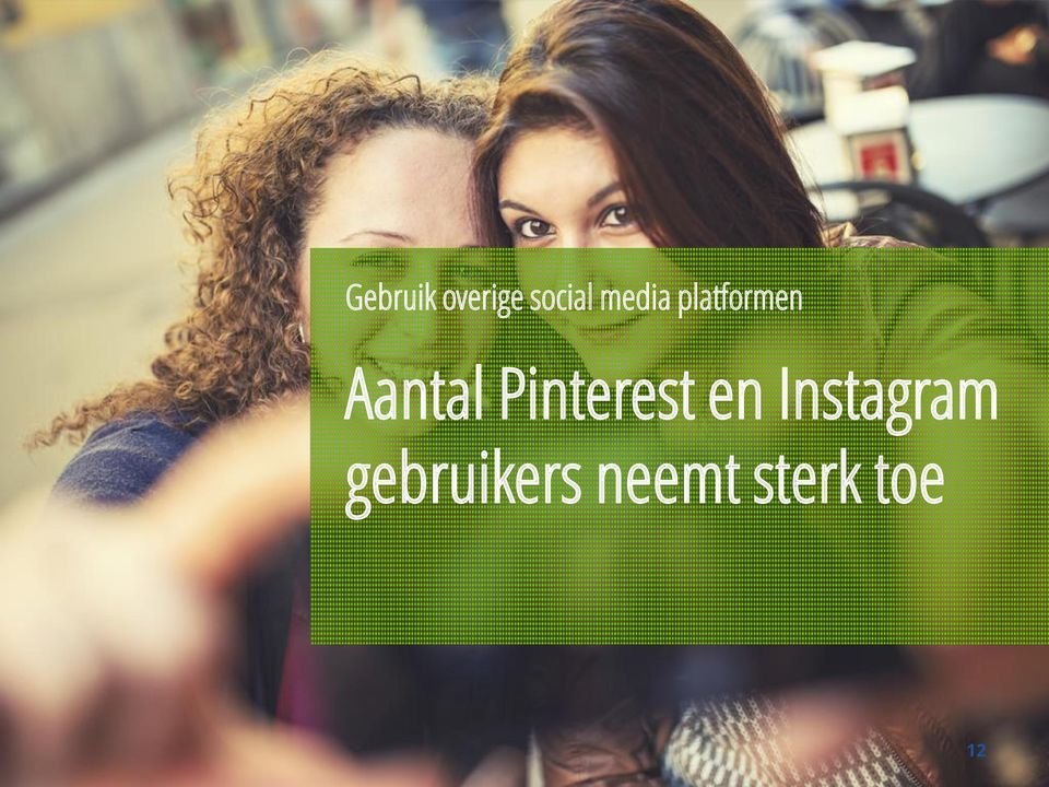 Pinterest en Instagram
