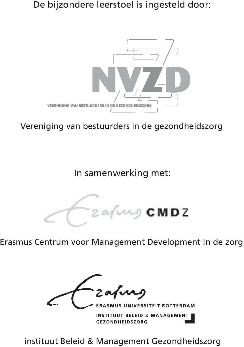 met: Erasmus Centrum voor Management Development in