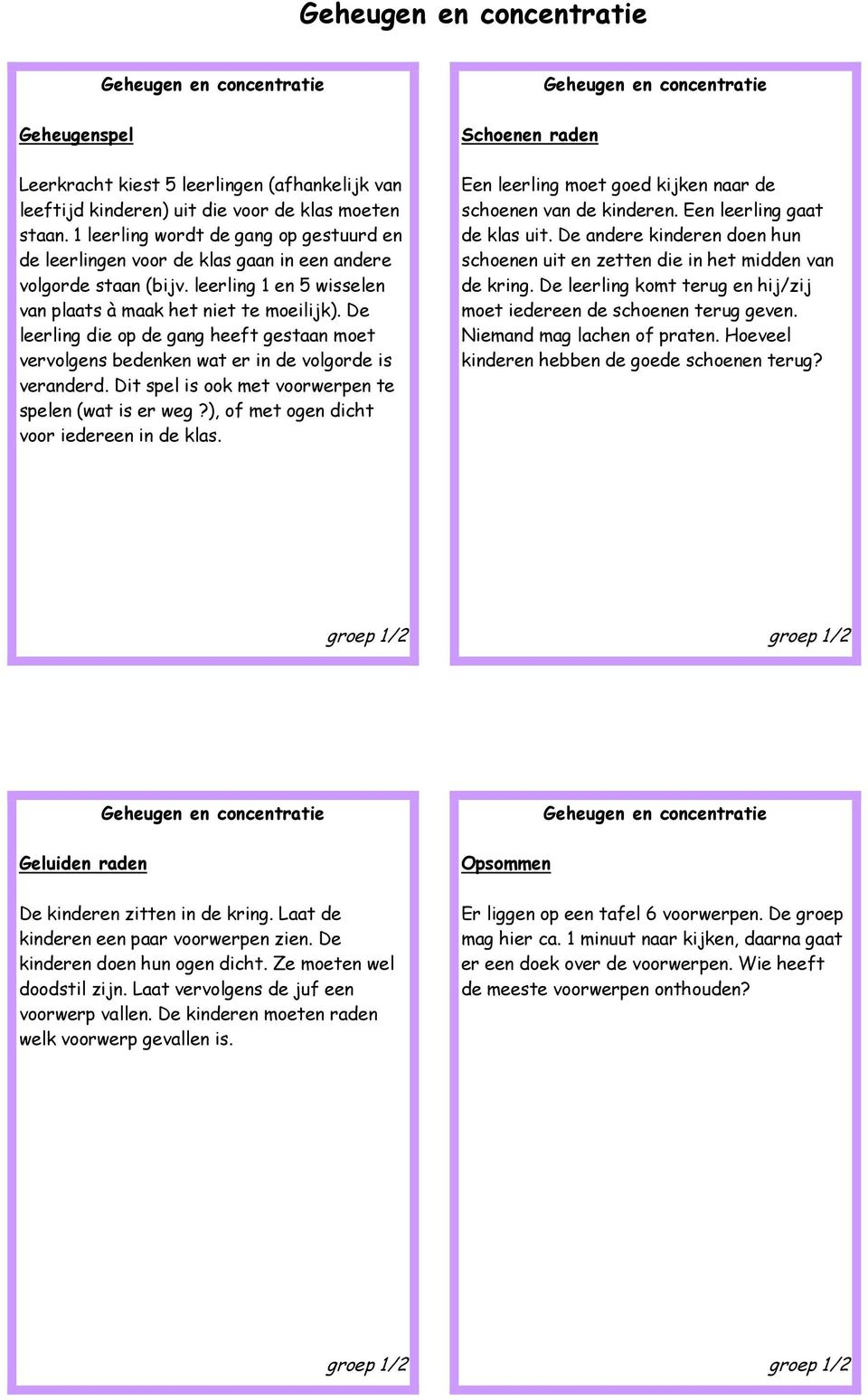 Extreem Energizers Groep 1/2 - PDF YH35