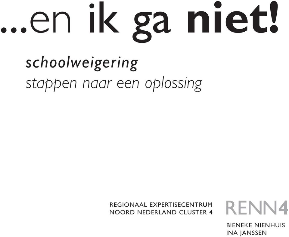 oplossing REGIONAAL EXPERTISECENTRUM