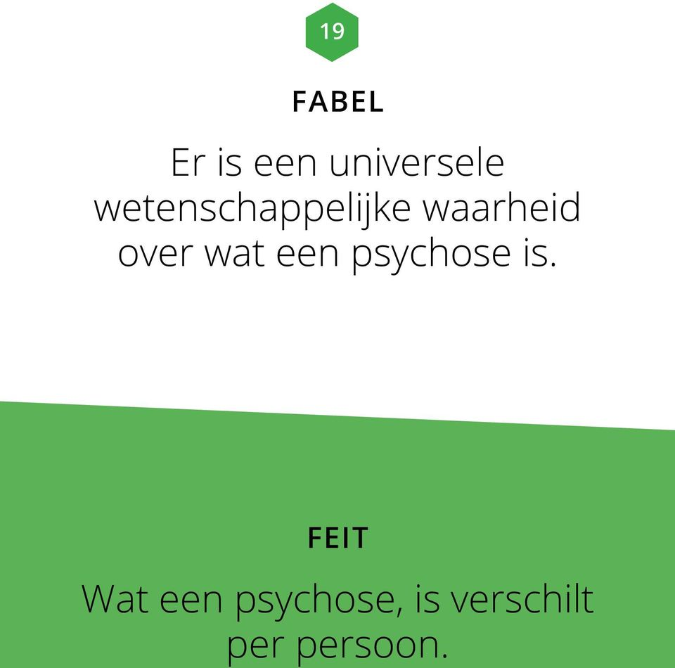 over wat een psychose is.