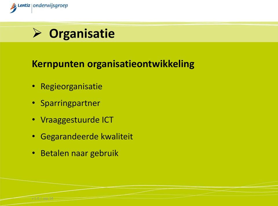 Regieorganisatie Sparringpartner