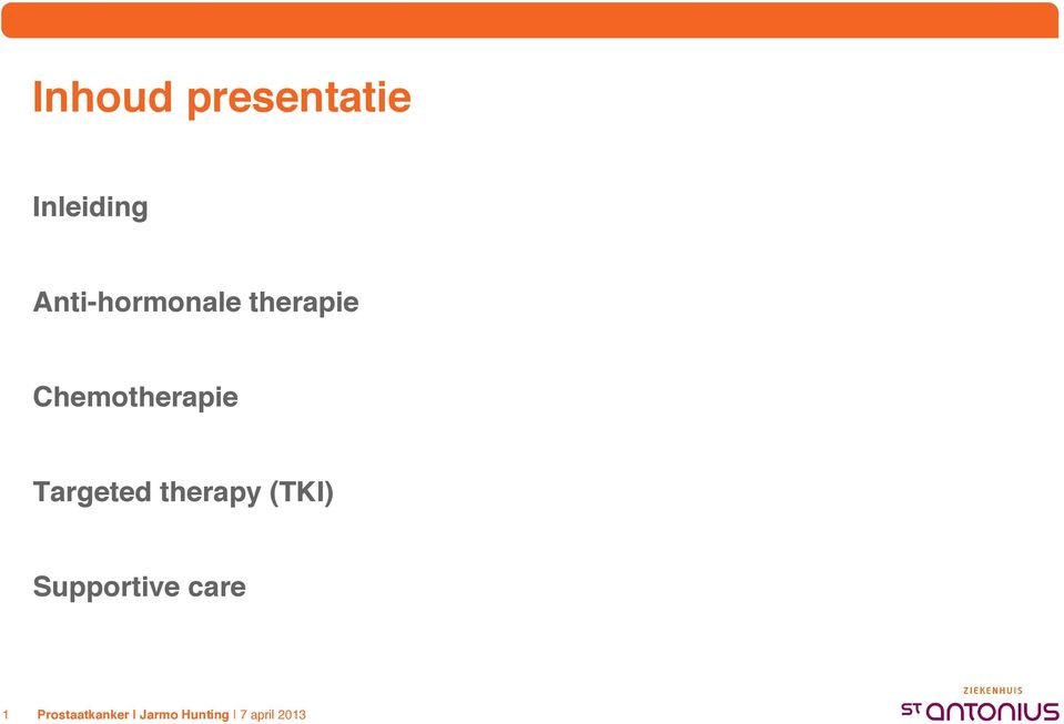 therapie Chemotherapie