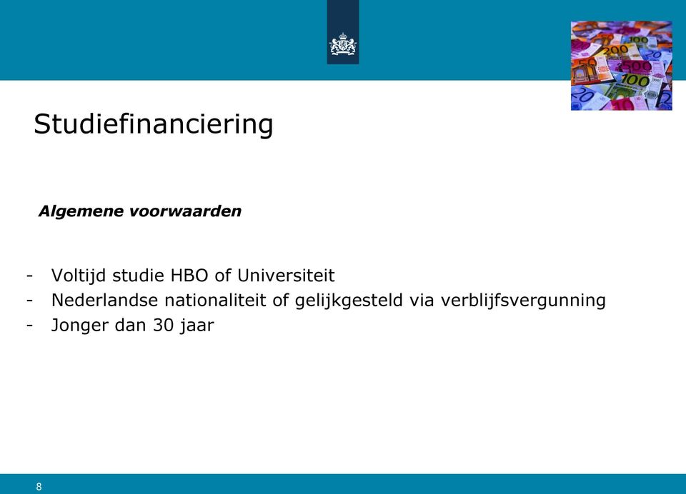nationaliteit of gelijkgesteld via