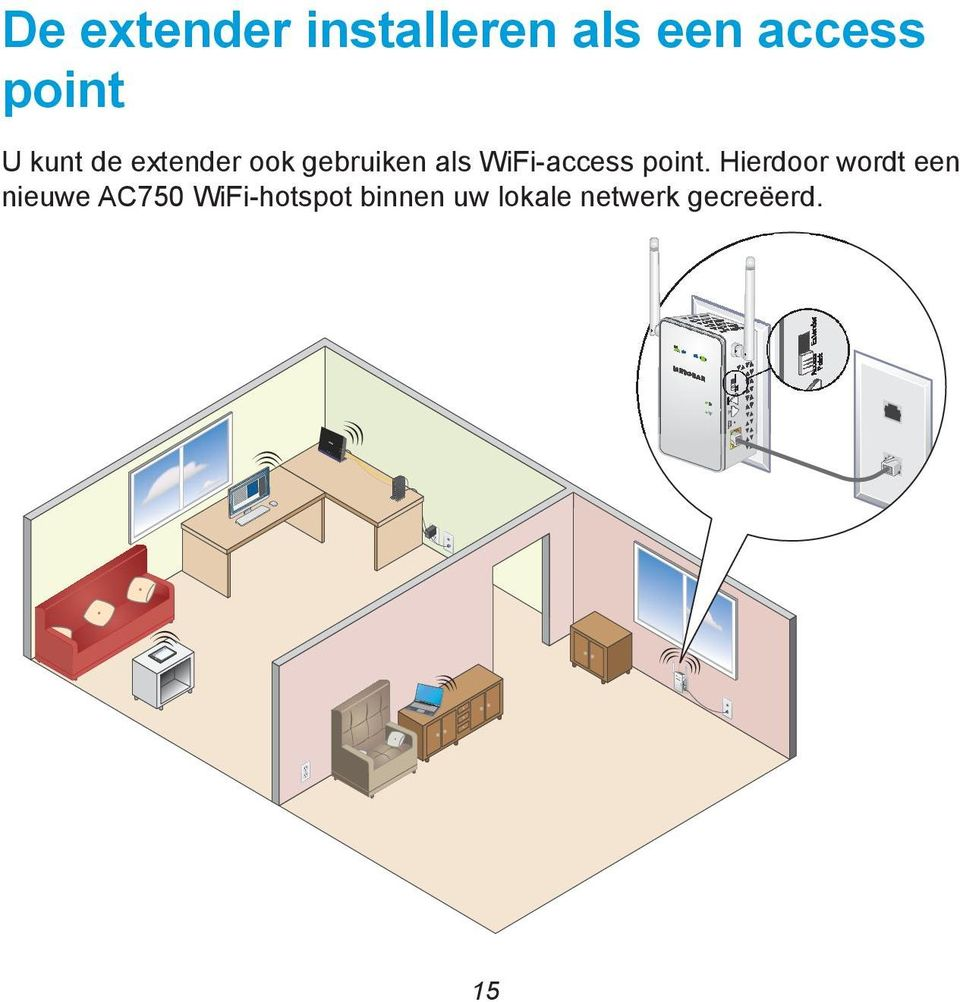 WiFi-access point.