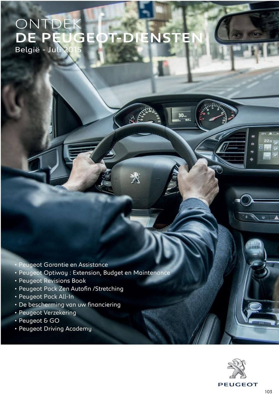 Revisions Book Peugeot Pack Zen Autofin /Stretching Peugeot Pack All-In De