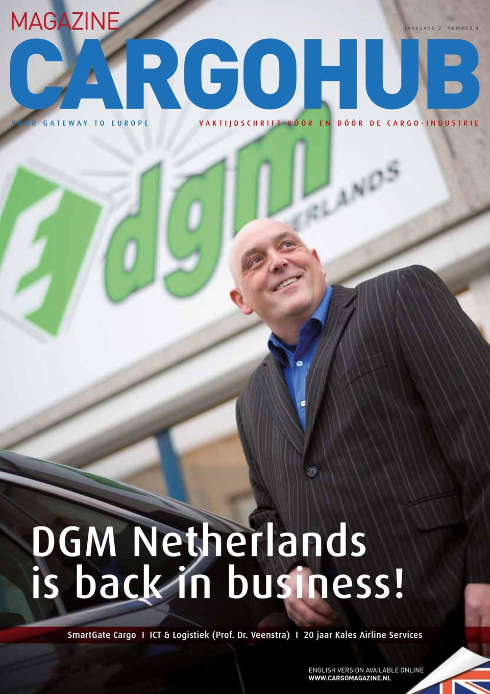 DGM Netherlands is back in business!