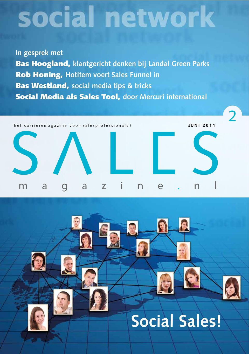 media tips & tricks Social Media als Sales Tool, door Mercuri