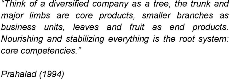 leaves and fruit as end products.