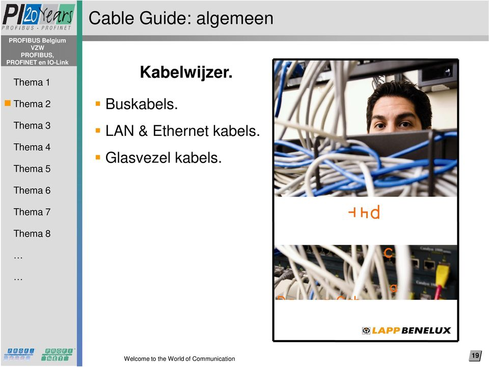 LAN & Ethernet kabels.