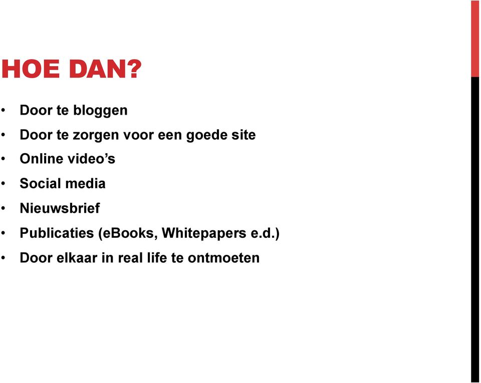 goede site Online video s Social media