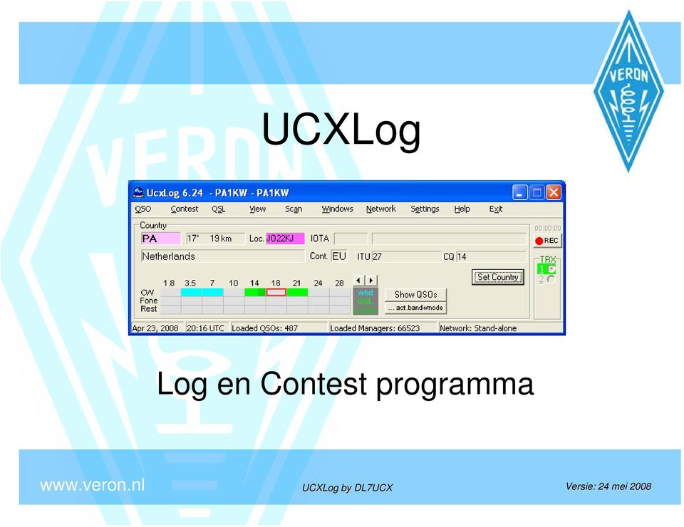 UCXLog by DL7UCX