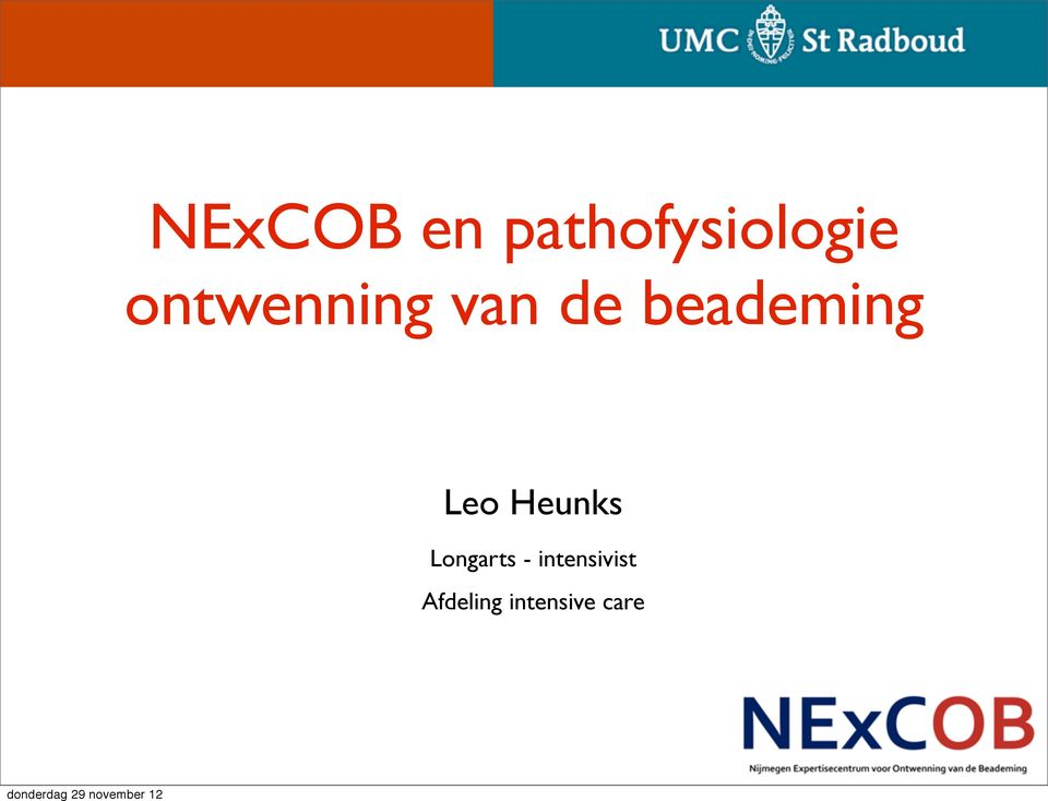 intensivist Afdeling intensive care