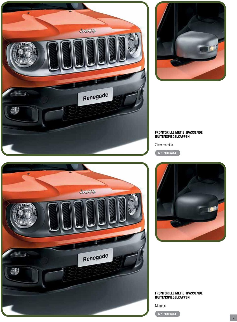 jeep renegade accessoires pdf. Black Bedroom Furniture Sets. Home Design Ideas