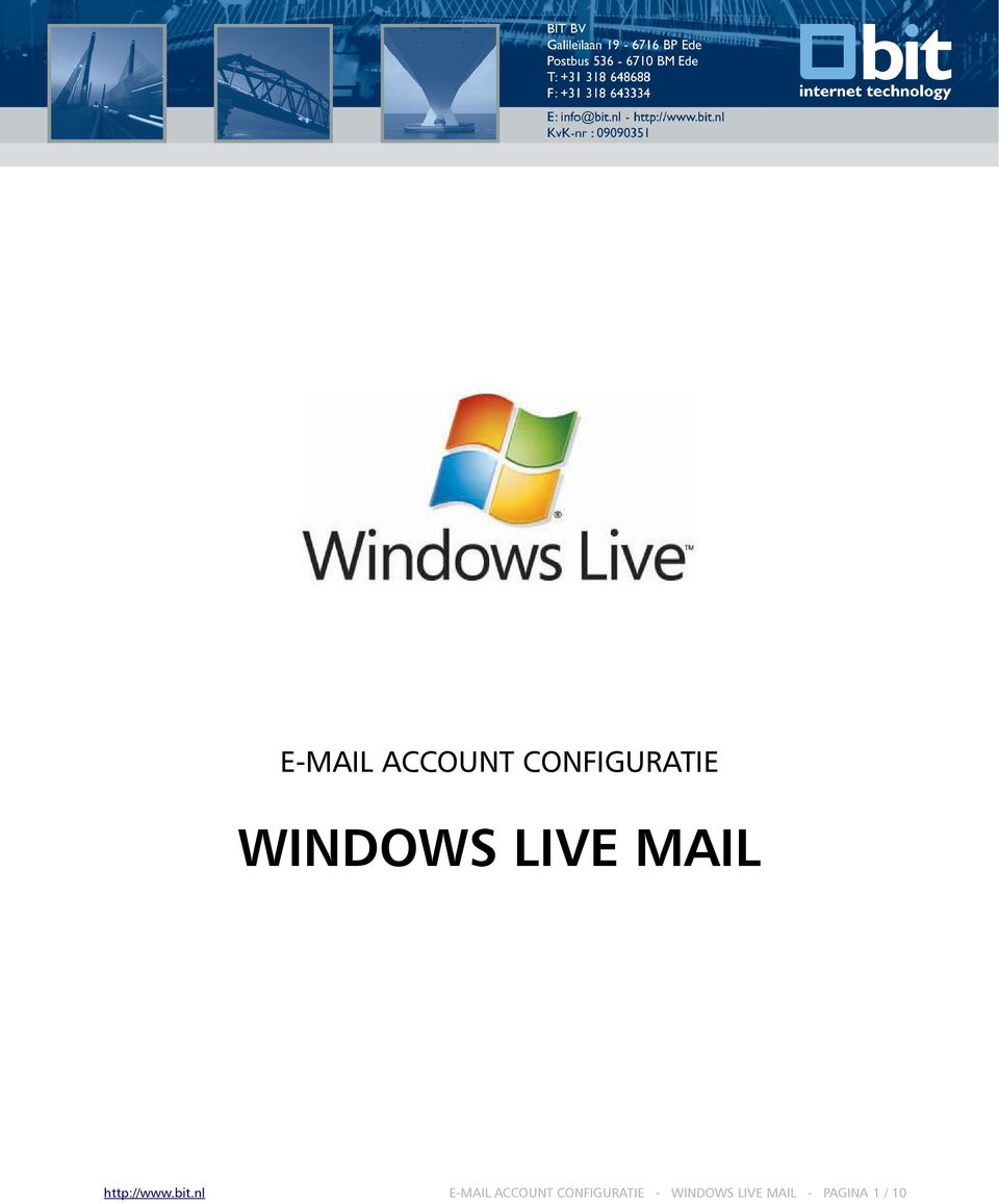 bit.nl  - WINDOWS LIVE MAIL -