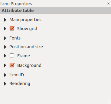 Figuur 18.22: Arrow Item properties Tab Main properties For Basic shapes, this dialog allows you to choose a Ellipse, Rectangle or Triangle shape and its rotation.