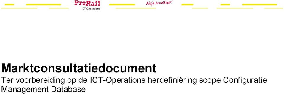 ICT-Operations herdefiniëring