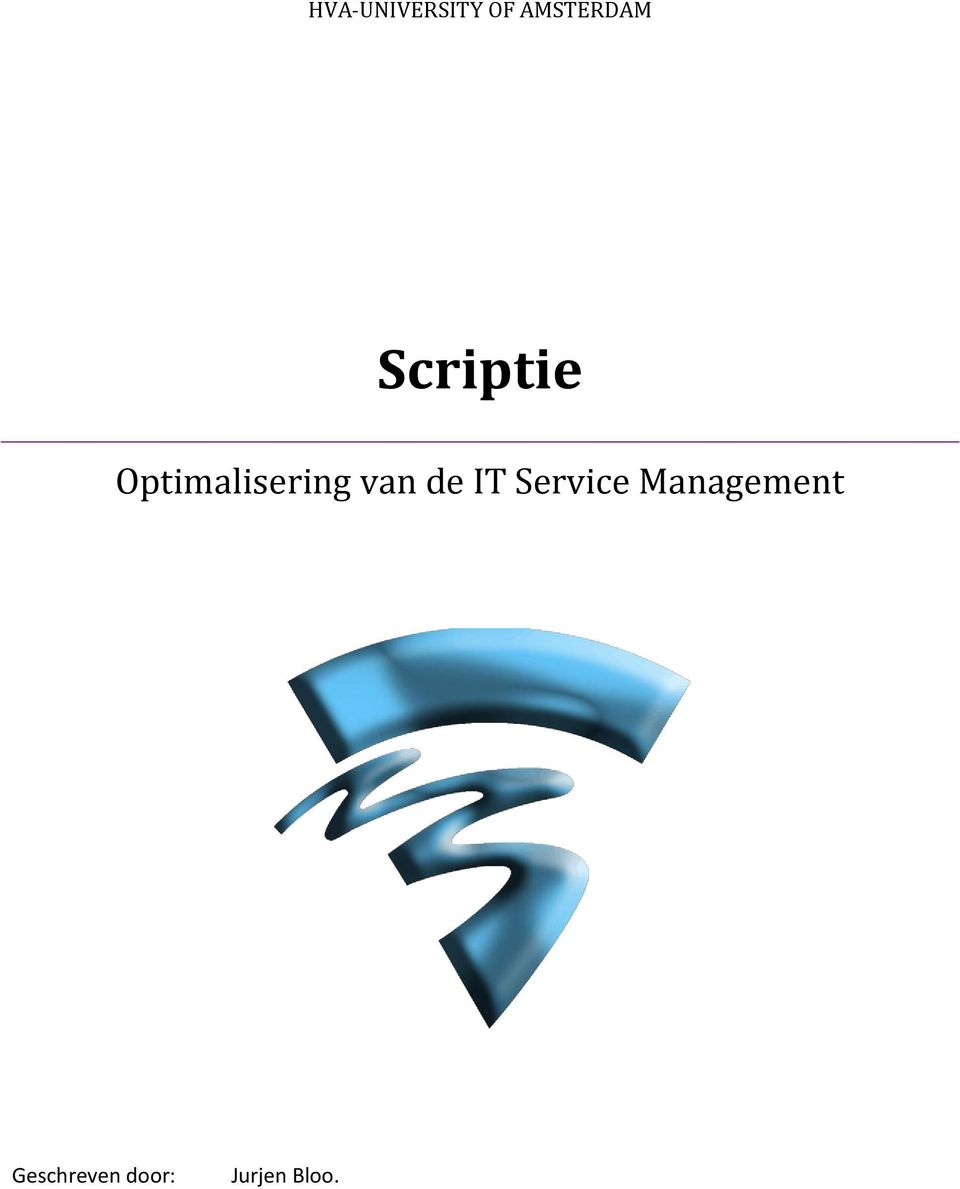 de IT Service Management