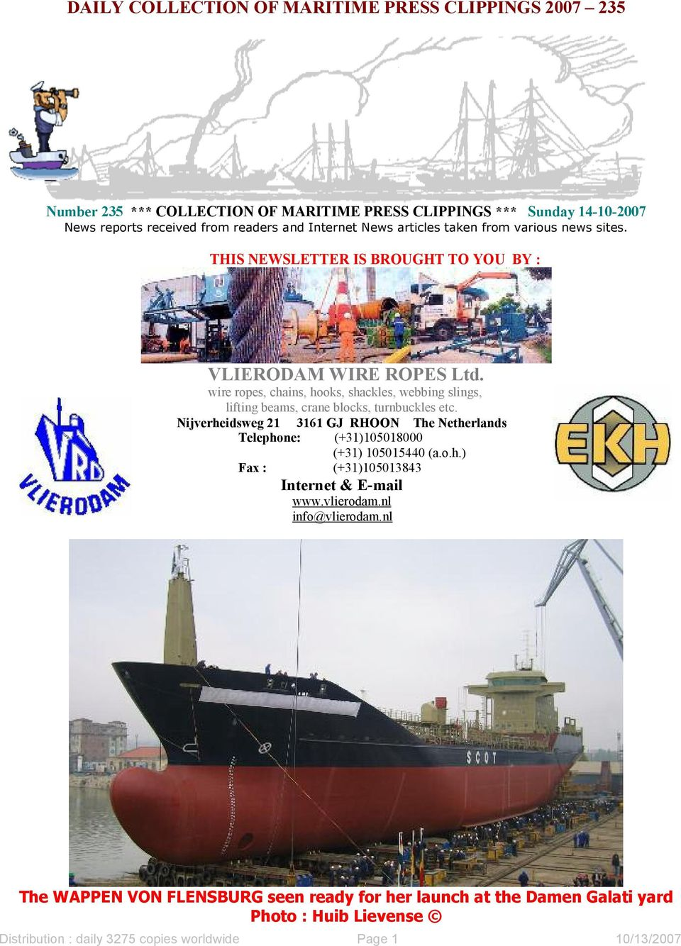 wire ropes, chains, hooks, shackles, webbing slings, lifting beams, crane blocks, turnbuckles etc.